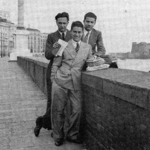 Con Alicata e Alatri nel 1937